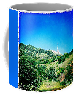 Coffee Mug featuring the photograph Hollywood by Nina Prommer