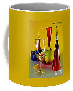 Coffee Mug featuring the photograph Honor To  Mondrian  by Elf Evans