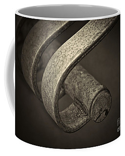 Coffee Mug featuring the photograph Hooked. by Clare Bambers