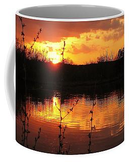 Horn Pond Sunset 8 Coffee Mug