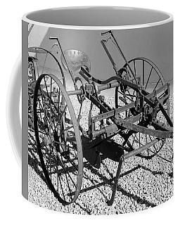 Horse Drawn Plow Coffee Mug by Pamela Walrath