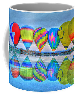 Hot Air Balloons At Eden Park Coffee Mug