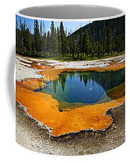 Hot Springs Yellowstone Coffee Mug
