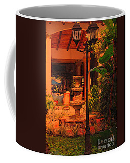 Coffee Mug featuring the photograph Hotel Alhambra by Lydia Holly