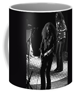 Hughie Thomasson And Frank O'keefe Of The Outlaws Coffee Mug