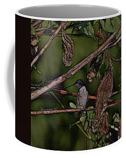Hummingbird Waiting For Dinner Coffee Mug by EricaMaxine  Price