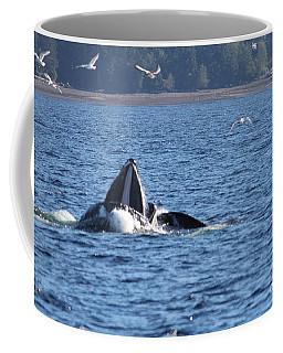 Hump Back Whale In Alaska Coffee Mug