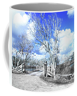 Coffee Mug featuring the photograph Hwy 82 Coastal Louisiana by Lizi Beard-Ward