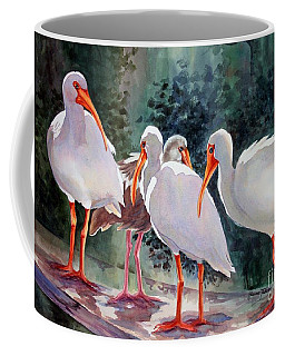 Ibis - Youngster Among Us. Coffee Mug by Roxanne Tobaison