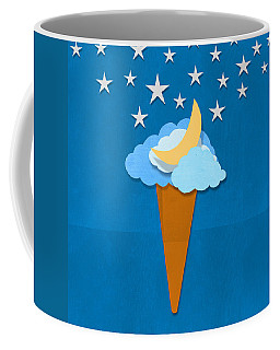 Ice Cream Design On Hand Made Paper Coffee Mug