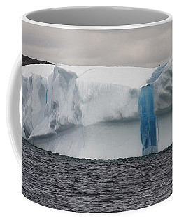 Coffee Mug featuring the photograph Iceberg by Eunice Gibb