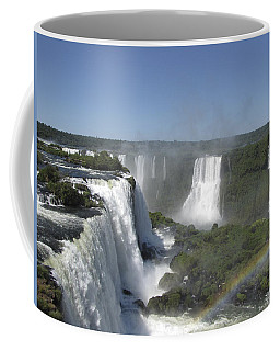 Coffee Mug featuring the photograph Iguazu Falls by David Gleeson