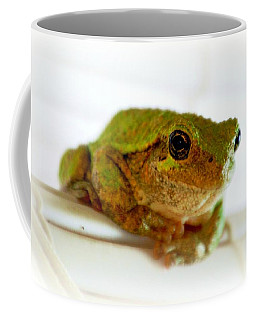 Coffee Mug featuring the photograph Im Watching You by Peggy Franz