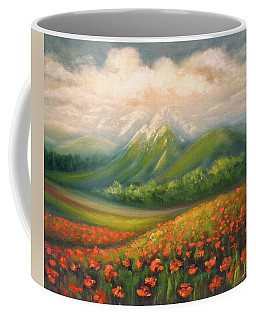 In The Poppy Field Coffee Mug