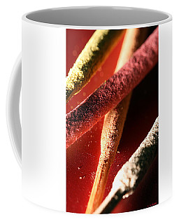 Coffee Mug featuring the photograph Incense by Lauren Radke