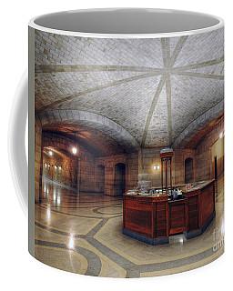 Info Desk Coffee Mug by Art Whitton