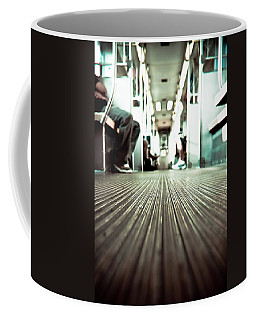 Inside The L At A Low Angle Coffee Mug