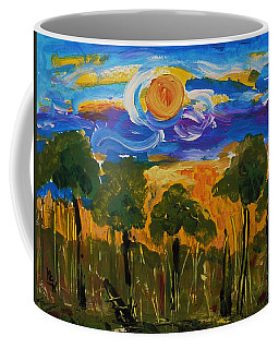 Intense Sky And Landscape Coffee Mug