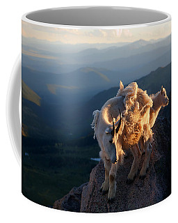 Two Faces West Coffee Mug