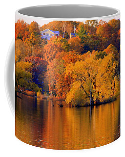 Island  In Fall Coffee Mug
