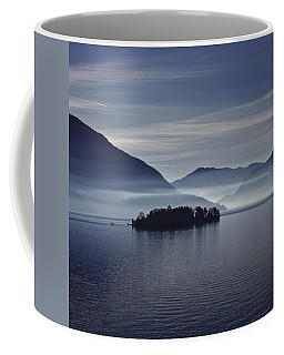 Island In Morning Mist Coffee Mug
