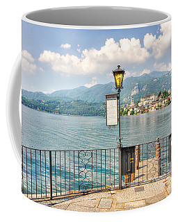 Island San Giulio On Lake Orta Coffee Mug