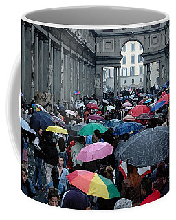 Coffee Mug featuring the photograph It Rains by Vivian Christopher
