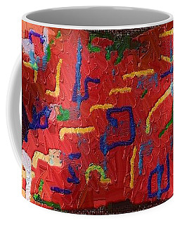 Coffee Mug featuring the digital art Italian Pillow by Alec Drake