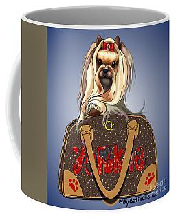 It's A Yorkie In A Bag  Coffee Mug