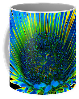 I've Got The Blues Coffee Mug by Mariola Bitner