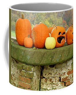 Coffee Mug featuring the photograph Jack-0-lanterns by Lainie Wrightson