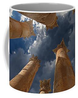 Coffee Mug featuring the photograph Jerash by David Gleeson