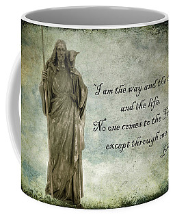 Jesus - Christian Art - Religious Statue Of Jesus - Bible Quote Coffee Mug