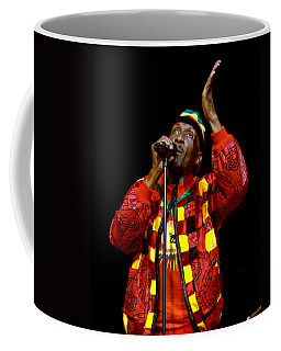 Coffee Mug featuring the photograph Jimmy Cliff by Jeff Ross