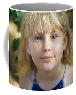 Portrait Of A Young Girl Coffee Mug