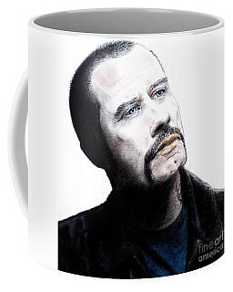 John Travolta In The Taking Of Pelham 123  Coffee Mug by Jim Fitzpatrick