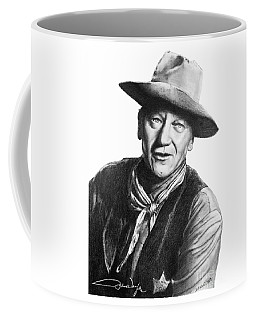 John Wayne  Sheriff Coffee Mug