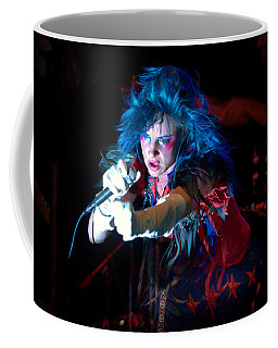 Coffee Mug featuring the photograph Juliette Lewis by Jeff Ross