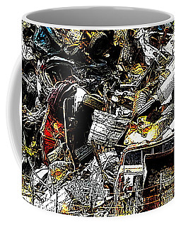 Coffee Mug featuring the photograph Junky Treasure 2 by Lydia Holly