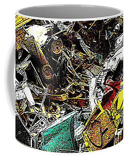 Coffee Mug featuring the photograph Junky Treasure by Lydia Holly