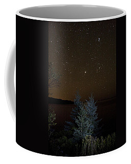 Jupiter  Over Otter Point 2 Coffee Mug by Brent L Ander