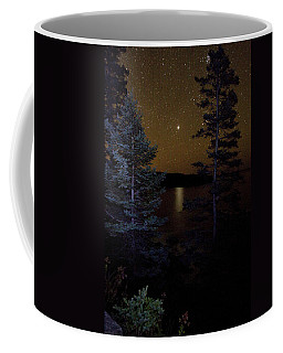 Jupiter Rising Over Otter Point Coffee Mug by Brent L Ander