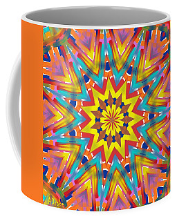 Kaleidoscope Series Number 7 Coffee Mug