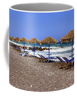 Kamari - Santorini Coffee Mug