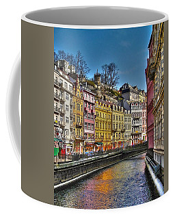 Coffee Mug featuring the photograph Karlovy Vary - Ceska Republika by Juergen Weiss