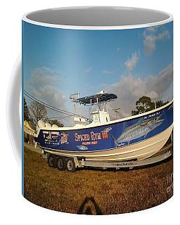 Kingfish Boat Wrap Coffee Mug