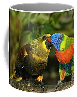 Kissing Birds Coffee Mug