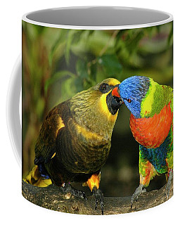 Kissing Birds Coffee Mug