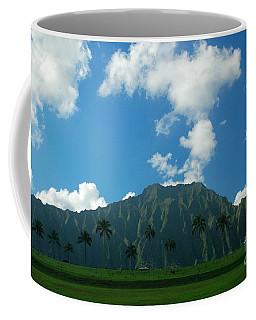 Koolau Mountains Coffee Mug by Mark Gilman