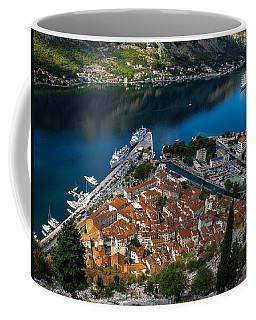 Coffee Mug featuring the photograph Kotor Montenegro by David Gleeson
